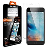 iPhone 6s Plus Screen Protector, Spigen® iPhone 6 Plus / 6s Plus [3D Touch Compatible- Tempered Glass] Most Durable [Easy-Install Wings] Rounded Edge Glass Screen Protector [Life Warranty] - SGP11634