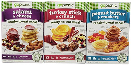 GoPicnic Kid-Friendly Lunches Variety Pack, 6 Count