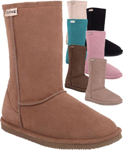 BEARPAW WOMENS S410 EVA SHEEPSKIN BOOTS