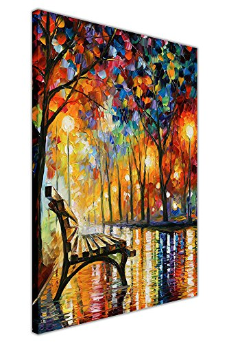 loneliness-autumn-by-leonid-afremov-oil-painting-reprint-on-framed-canvas-wall-art-pictures-deco-pri