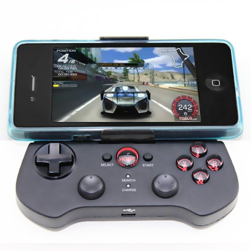 Koolertron Wireless Bluetooth 3.0 Game Controller Gamepad Joypad for Apple iOS iphone 4/4S ipad Android Phone/Tablet PC