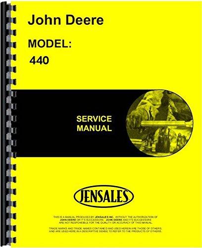 John Deere 440 Skidder OEM Service Manual