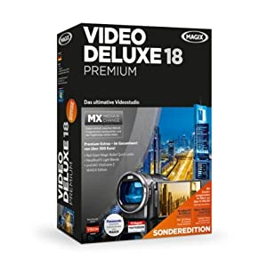 MAGIX Video deluxe 18 MX Premium Sonderedition