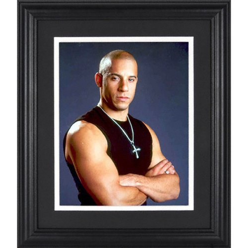 Vin Diesel Framed Unsigned 8x10 Photograph【並行輸入】