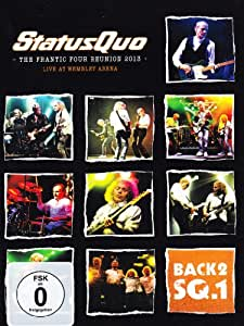 Status Quo -Back2sq.1 - The frantic tour reunion 2013 - Live at Wembley Arena (+CD) [(+CD)]
