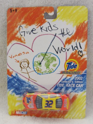 Nascar - Give Kids the World Tide 2002 Race Car Nascar by ERTL, Inc.