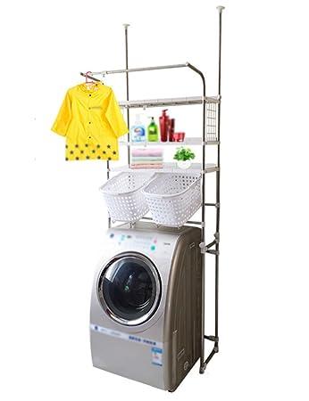 HYDT Rack Scaffale per lavatrice Balcone Rotella in acciaio inossidabile Raffreddamento per vasche da bagno in mensola
