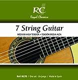 Royal Classics RG70 Russian Guitar Nylon Guitar Strings, Custom Tension 7-String Set