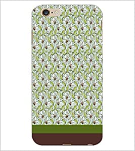 PrintDhaba Floral Pattern D-1848 Back Case Cover for APPLE IPHONE 6S PLUS (Multi-Coloured)