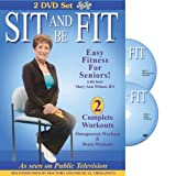 Sit and Be Fit: Osteoporosis and Brain Workouts 2 DVD Set-improve postural stability, core strength, and balance control, keep mind flexible and alert.