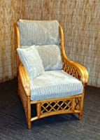 Replacement Cushion Covers for Cane Wicker and Rattan Conservatory and Garden Furniture - Beige Jumbo Cord by Zippy UK