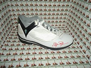 Michael Jordan Autographed shoe (2009) Chicago Bulls COA Memorabilia Lane &... by Memorabilia Lane