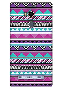 Print Haat Back Cover for Gionee E8 (Multi-Color)