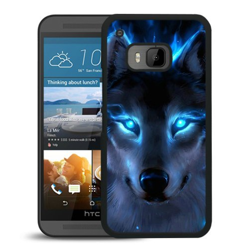 NEW Custom Design Tempting Phone Case With WOLF 1 Black Phone Case For HTC ONE M9