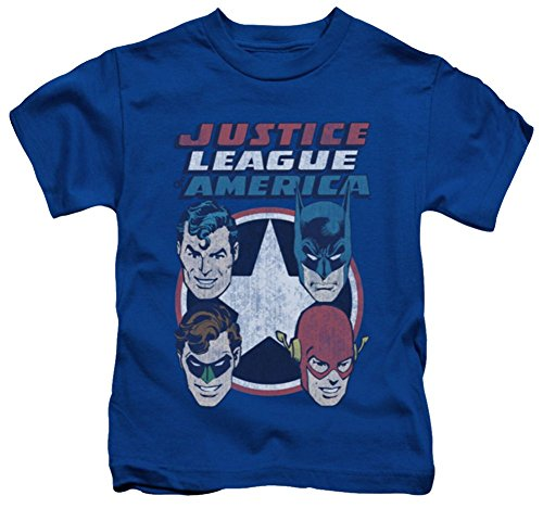 Justice League 4 Stars Juvy T-Shirt