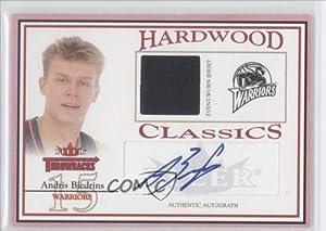 Andris Biedrins #12 249 Golden State Warriors (Basketball Card) 2004-05 Fleer... by Fleer Throwbacks