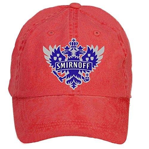 nusajj-smirnoff-vodka-logo-adult-unstructured-100-cotton-hats-design-red-one-size
