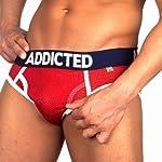 Addicted Mesh Brief Red