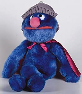 PELUCHE DE SUPERCOCO 45 CM BARRIO SESAMO SUPER GROVER PLUSH