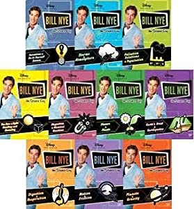 Amazon.com: Bill Nye the Science Guy 10-Disc DVD Collection (Magnetism ...