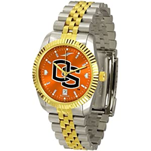 Oregon State Beavers NCAA AnoChrome Executive Mens Watch by SunTime