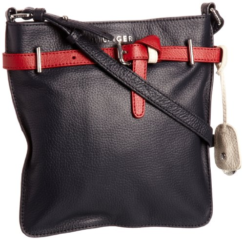 Tommy Hilfiger Womens Issie Flat Cross-Body Bag