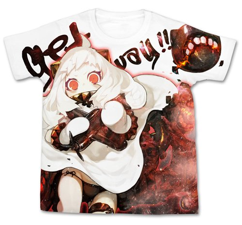 艦隊これくしょん -艦これ- 北方棲姫 フルグラフィックTシャツ ホワイト サイズ:M
