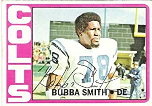 Bubba Smith Autographed Football - 2 TIME BOWLER Passed Away 2011 Card - Autographed NFL Football Cards