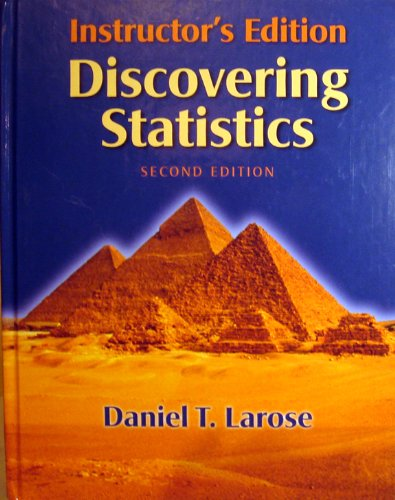 Discovering Statistics:INSTRUCTOR'S EDITION
