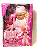 Talking Baby Doll Playset Glitter Girl