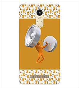 PrintDhaba Funny Image D-5694 Back Case Cover for XIAOMI REDMI NOTE 3 (MEDIA TEK) (Multi-Coloured)