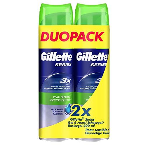 gillette-series-gel-a-raser-pour-peau-sensible-lot-de-2