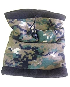 RÉversible Tour De Cou Camouflage / Masque / Cagoule/ Protection Micro Fibre Polaire - Airsoft / Paintball / Moto / Ski / Outdoor