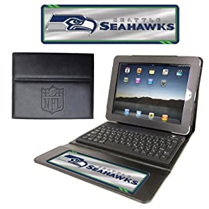 NFL Seattle Seahawks Team Promark Executive iPad Case with Keyboard by Team ProMark
