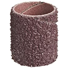 "3M Cloth Band 341D, 3/4"" Diameter x 1"" Width, 36 Grit, Brown (Pack of 100)"
