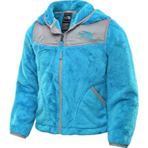 The North Face Girls Oso Hoodie Turquoise, Small from The North Face