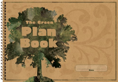 Carson-Dellosa 104300 Green Plan Book, 96 Pages, 9-1/4 in.x13 in.