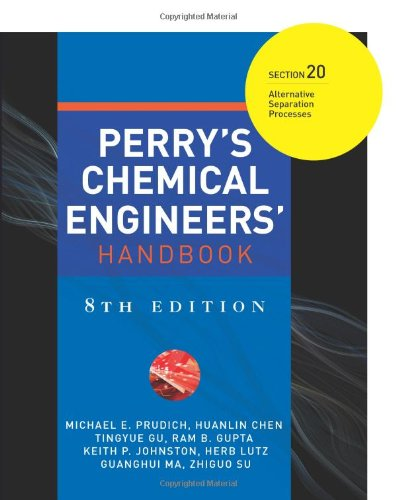 Image for publication on Perry's Chemical Engineers' Handbook 8/E Section 20:Alternative Separation Processes