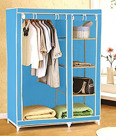 Everything Imported 3 5 feet Folding Wardrobe Cupboard Almirah Foldable  Storage Rack Collapsible Cabinet. Everything Imported 3 5 feet Folding Wardrobe Cupboard Almirah