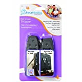 Dreambaby 2 Pack Flat Screen TV Saver, Black Baby, NewBorn, Children, Kid, Infant