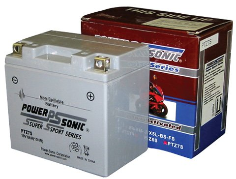 Power-Sonic (PTZ7S) Sealed Maintenance Free Powersport Battery