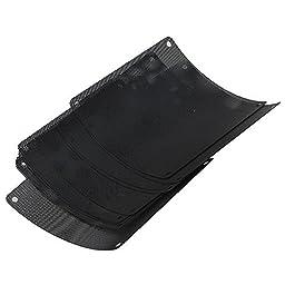 Computer Black PVC PC Fan Dustproof Mesh Case Dust Filter 140mm Pack of 10