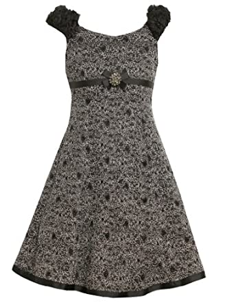 Amazon Com Size 10 Bnj 5402x Black Glittered Floral Fit N
