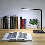 8W Dimmable Touch Sensor 60 LED Light Desk Table Reading Book Lamp + Power