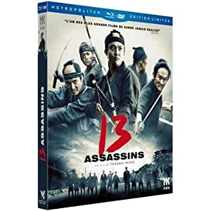 13 assassins [Blu-ray] [Combo Blu-ray + DVD]