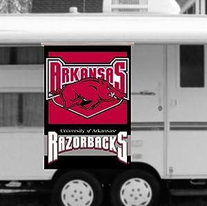 NCAA Arkansas Razorbacks RV Awning 28-by-40 Banner