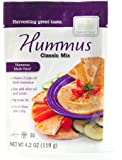 Harmony Valley Classic Hummus, 4.2-Ounce (Pack of 6)