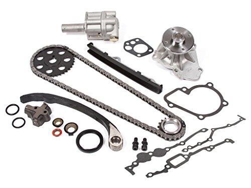Evergreen TK3005WOPT Nissan KA24E Timing Chain Kit w/ Water
