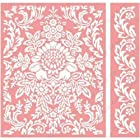 Cuttlebug A2 Embossing Folder/Border Set-Anna Griffin Juliet Damask