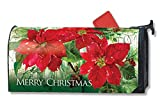 Magnet Works MAIL01043 Christmas Poinsettias Mail wrap